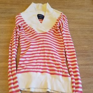 American Eagle Outfitters collared sweater